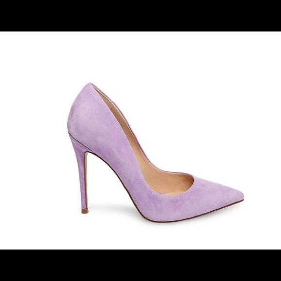 83d2d25646c Steve Madden Daisie lavender suede shoes sz. 6